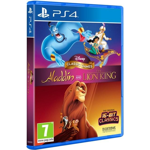 Alcampo Majadahonda Disney Classic Aladdin y El Rey León para PS4