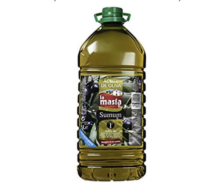 Aceite de Oliva Intenso, 5 litros La masia (Envío de 1 a 3 semanas)