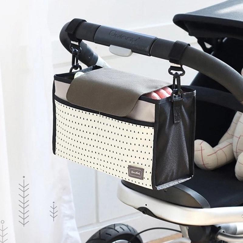 Bolsa de cochecito para accesorios bebé