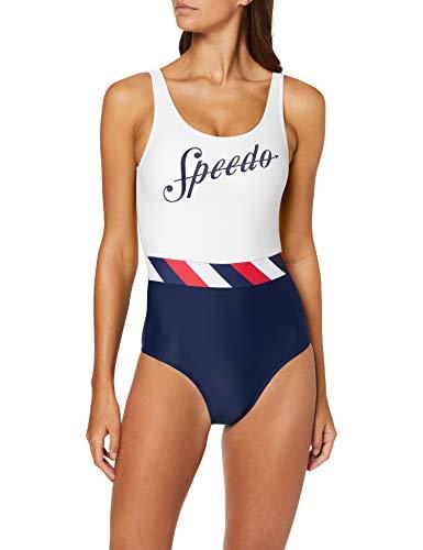 Speedo Shoreline U-Back - Traje de Baño Mujer talla 34 (ES 40).