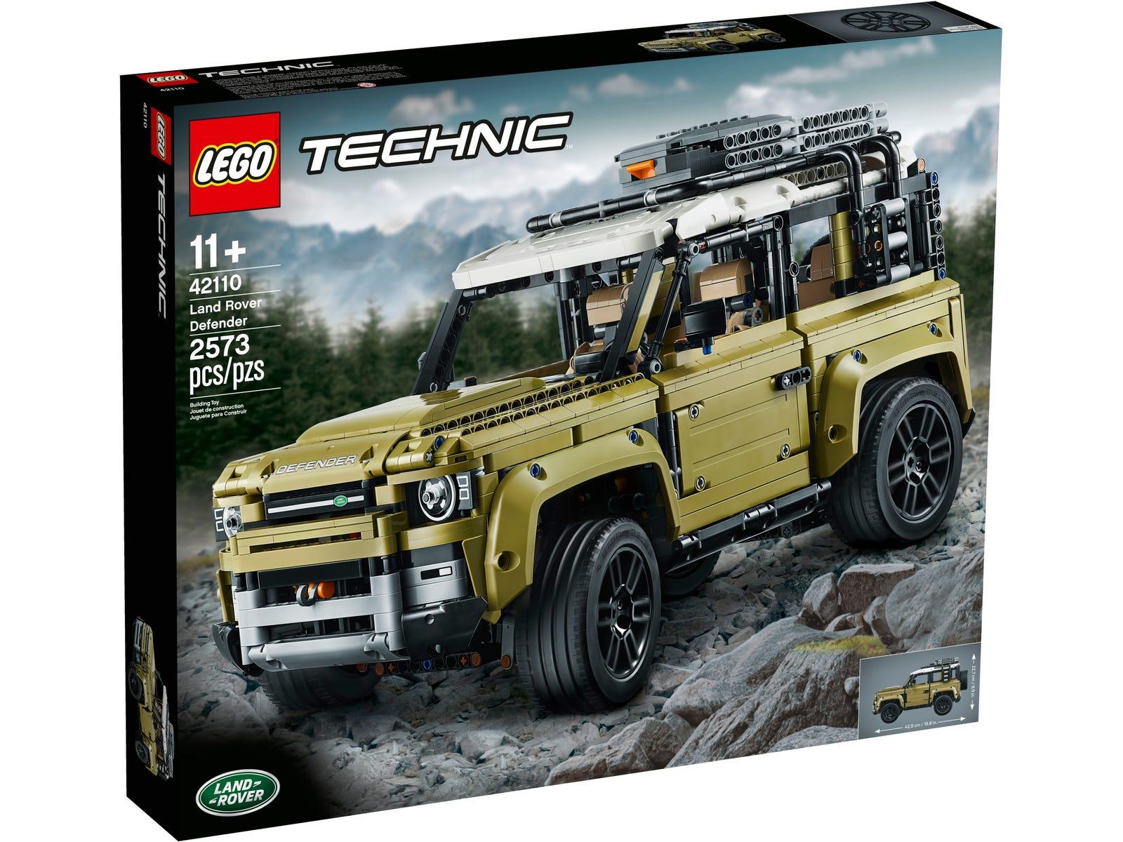 Lego Land Rover Defender (Carrefour Dos Hermanas)