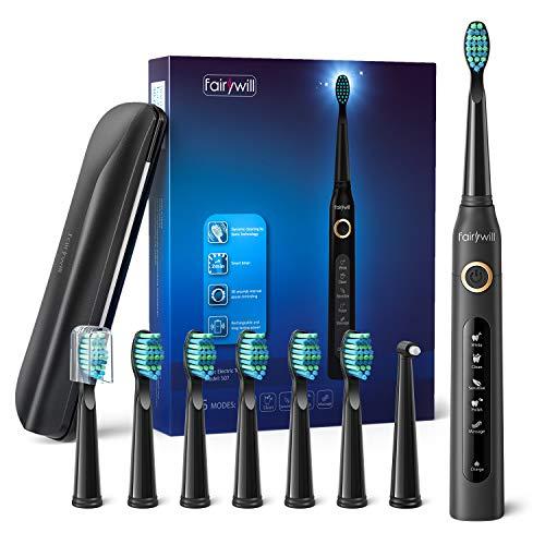 Cepillo de dientes +8 cabezales con 5 modos