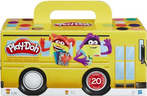 Pack Plastilina Play Doh 20 Botes (Oferta 3x2 leer descripción) Recogida en tienda