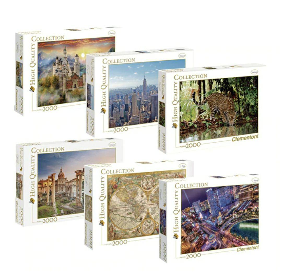 Puzzles Clementoni 2000 piezas