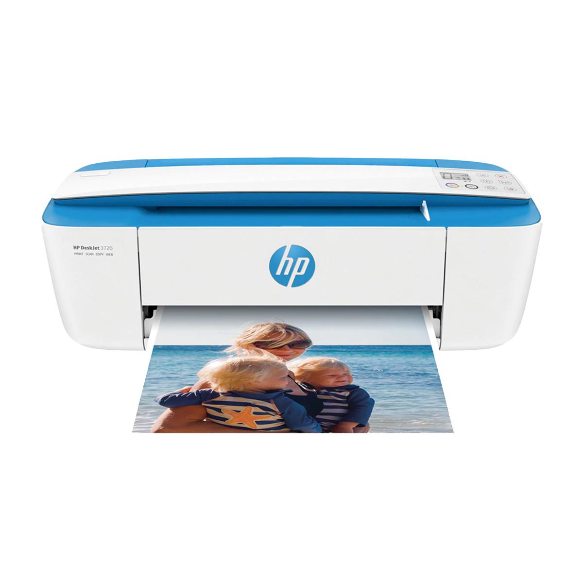 Impresora Multifunción Tinta HP DeskJet 3720 WiFi, Instant Ink