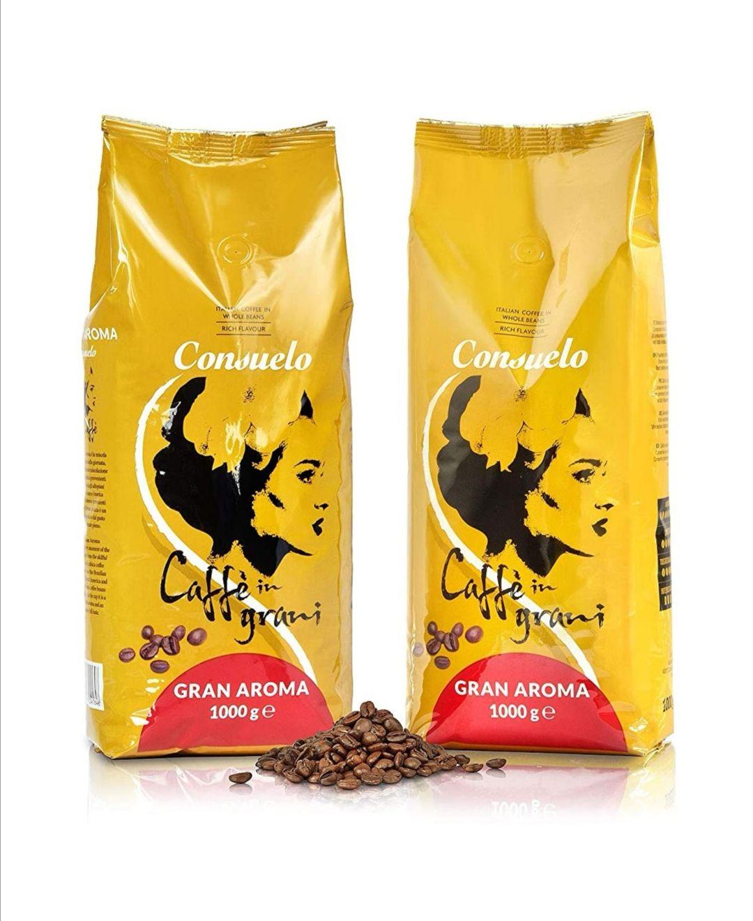Café en grano marca Italiana