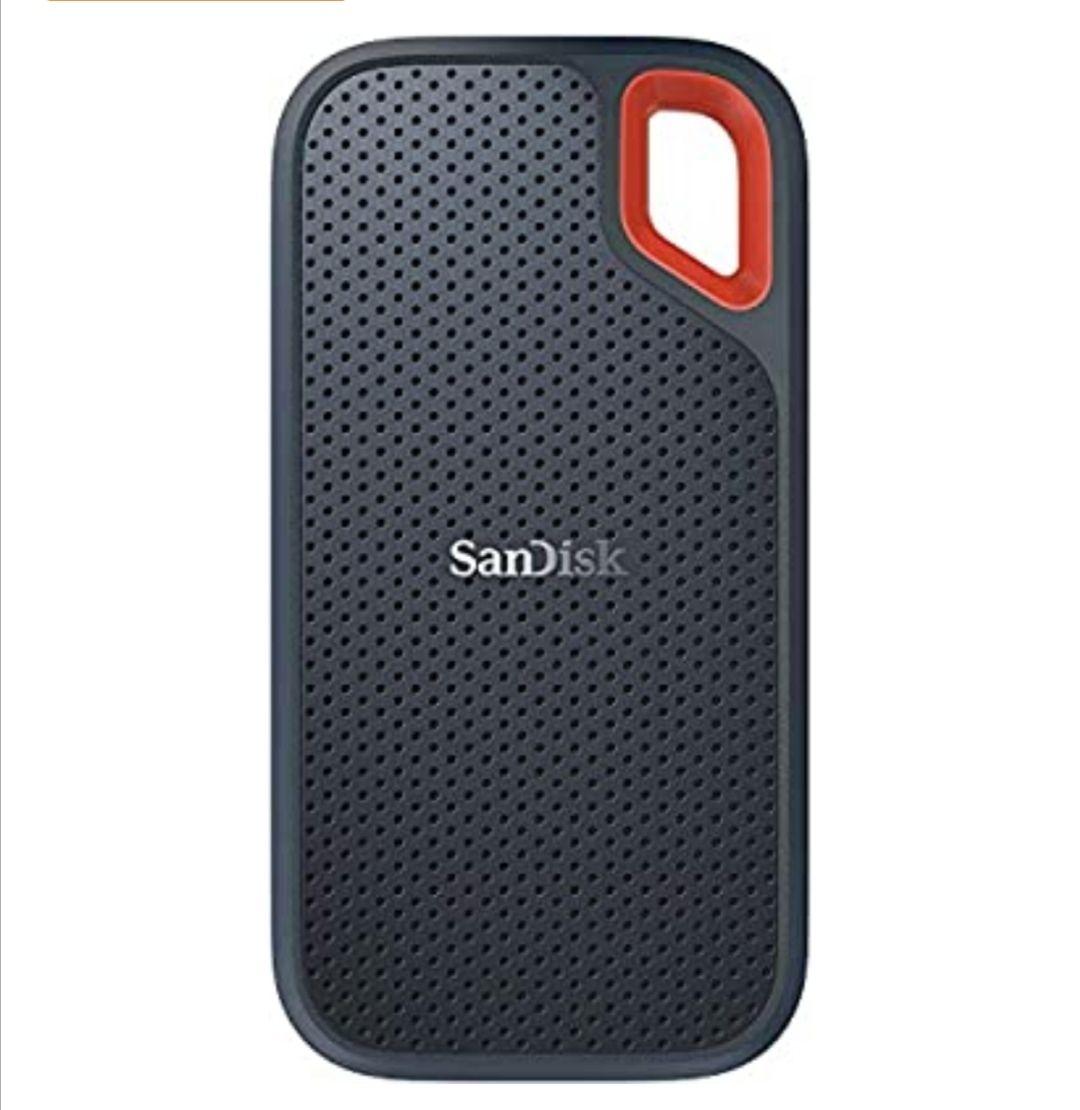Disco duro externo SanDisk Extreme SSD portátil de 1 TB