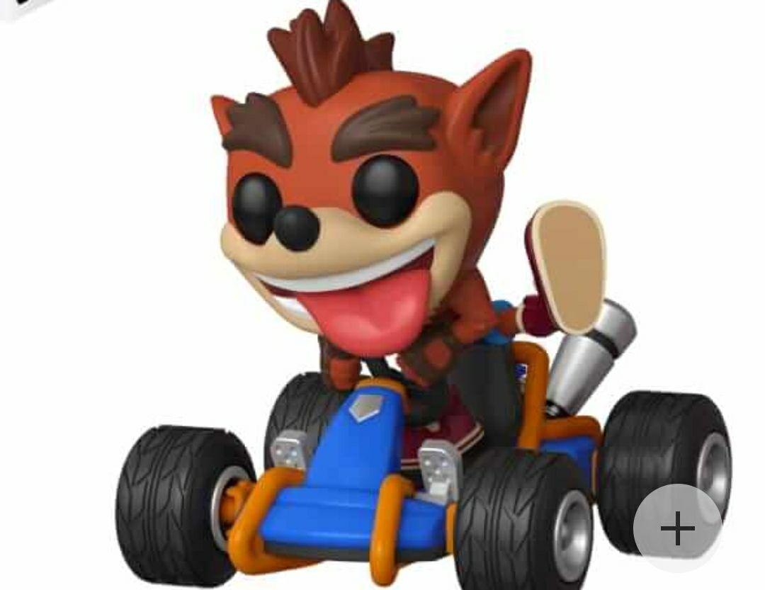Funko Ride - Crash Racing Teams - Crash Bandicoot