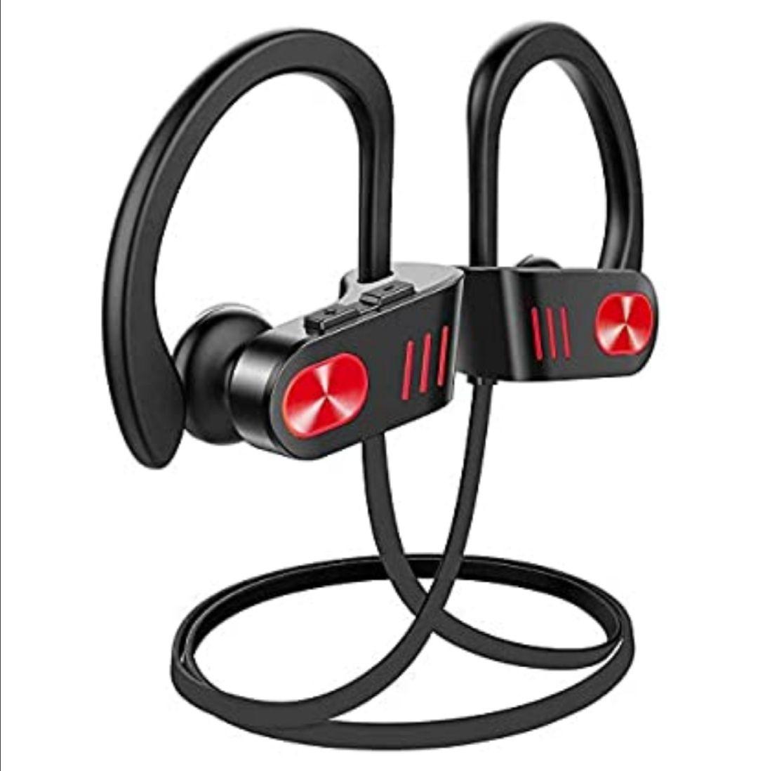 Auriculares inalámbricos Bluetooth, hasta 9 horas de tiempo de reproducción IPX8