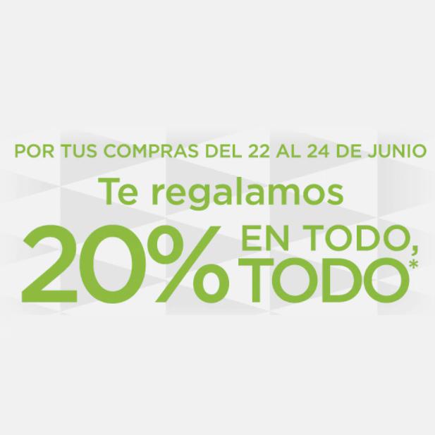 20% Regalo en ECI.