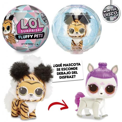 2 unidades LOL fluffy pets a 6,44€ cada una
