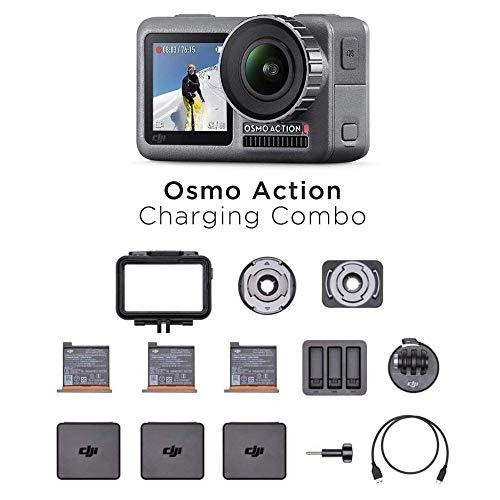 DJI Osmo Action Charging Combo - 3 baterias