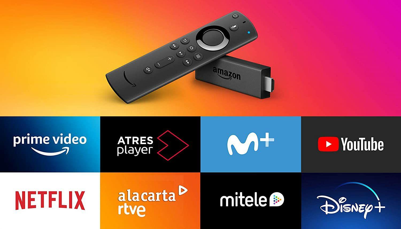Amazon Fire TV Stick con mando por voz Alexa con unas buenas Papas (Amazon Prime) (Cuentas Seleccionadas)
