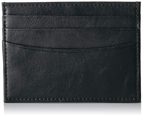 Amazon Essentials - Cartera minimalista delgada para hombre