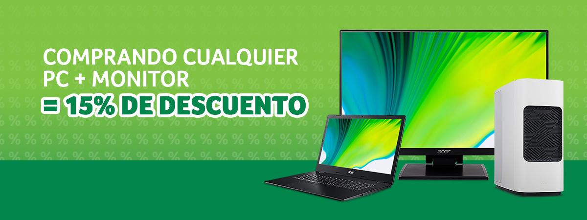 Ofertas en ordenadores y monitores Acer