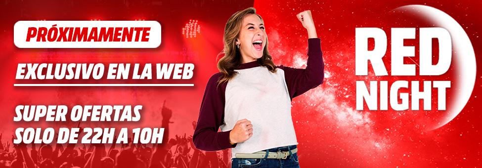 Esta noche Red Night en Mediamarkt (22:00 - 10:00)