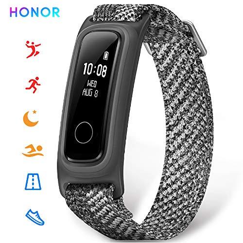 HONOR Band 5 Sport smartwatch Pulsera de Actividad Inteligente Reloj Impermeable IP68, Monitor de Sueño, P Gris (Versión Global)