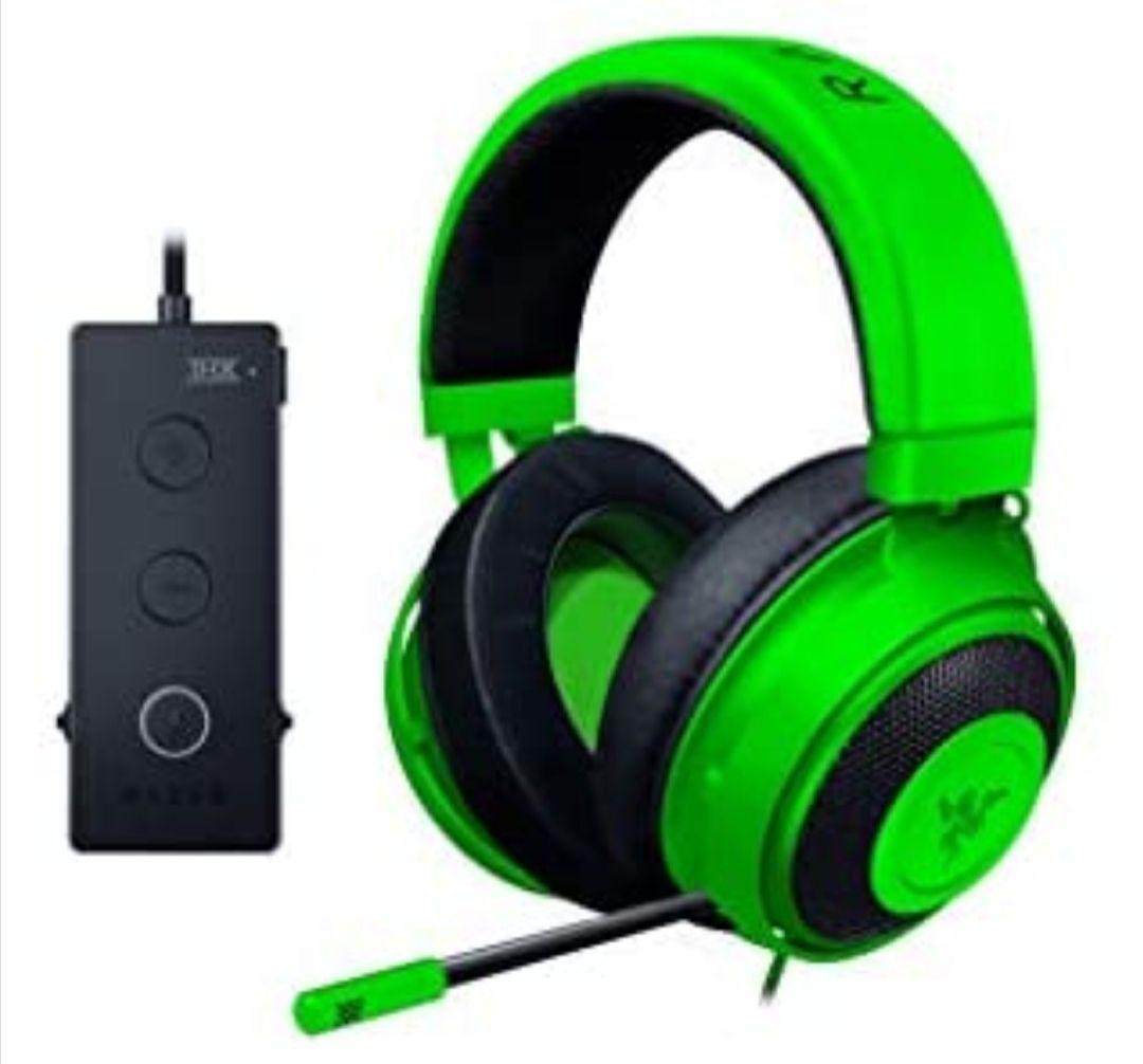 Razer Kraken Tournament Edition Auriculares Gaming, con Cable, Control de Audio y THX Spatial Audio, Alámbrico