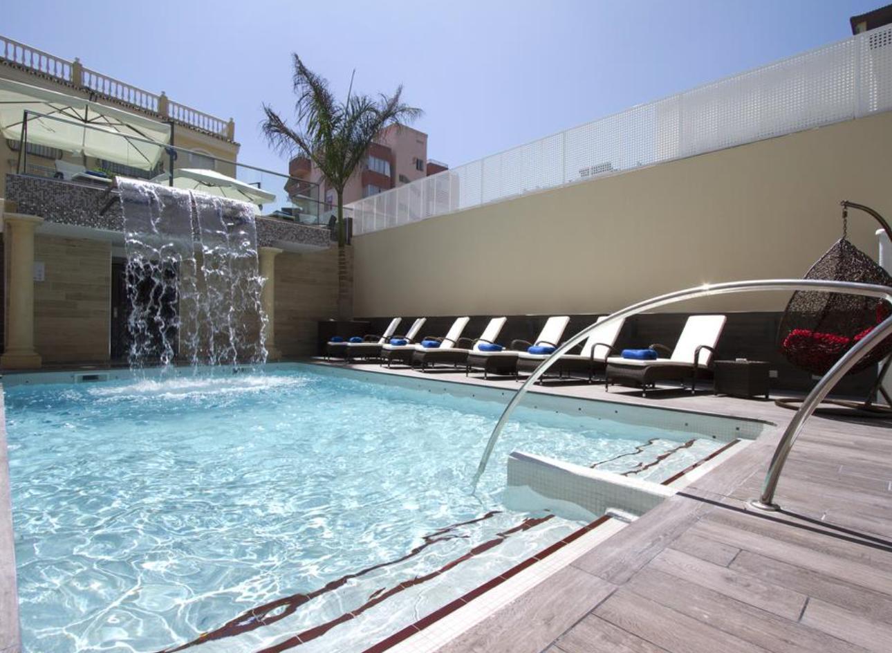 Julio Torremolinos 123€/p= 4 noches en Hotel Boutique & Spa 4*