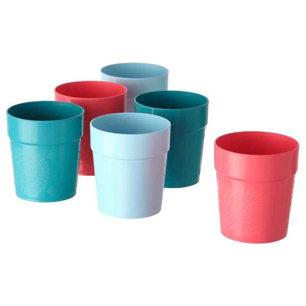 Vasos UTEFEST Colores variados 29cl