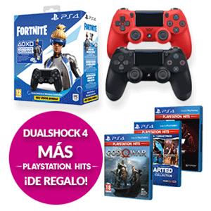 DualShock 4 + Skin Neoversa fortnite + juego Ps hit a elegir