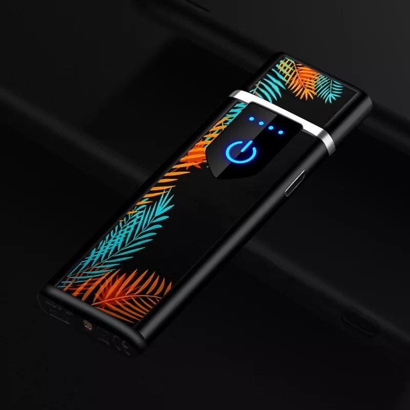 Encendedor USB con activación por sensor táctil