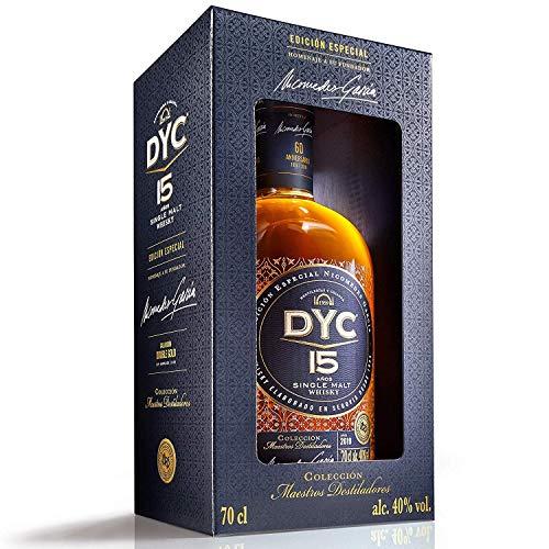 DYC 15 Años Edición Especial 60 Aniversario Single Malt Whisky - 700 ml