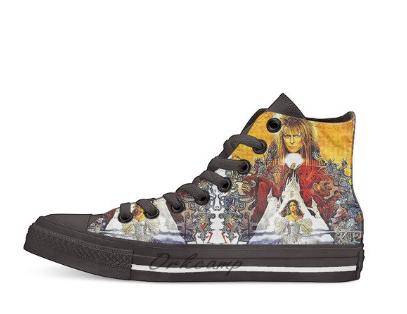 Zapatillas personalizadas estilo Converse - Mas detalles en la descripción