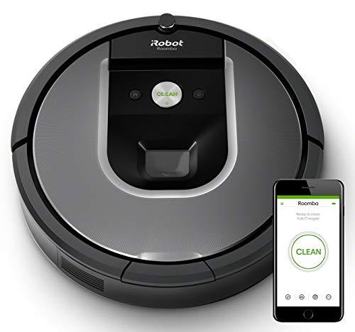 iRobot Roomba 960 Robot Aspirador, Succión 5 Veces Superior, Cepillos de Goma Antienredos, Sensores Dirt Detect, Wifi, compatible Alexa