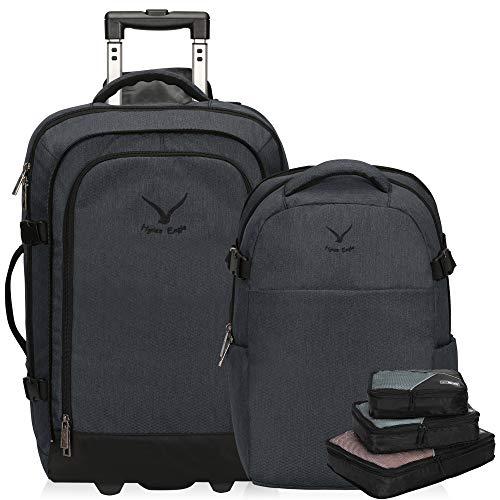 Hynes Eagle 2 in 1 - Maleta + mochila de viaje + organizador
