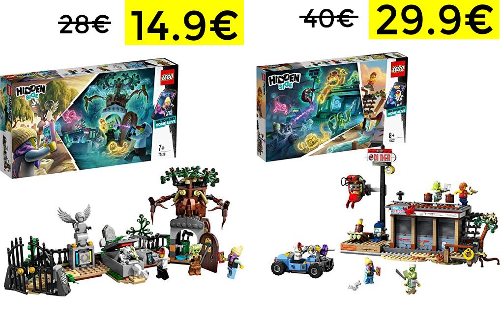 Cementerio LEGO Hidden Side solo 14.9€ y más bajadas