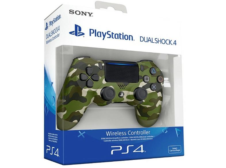 PS4 DualShock 4 V2, Verde camuflaje + un JUEGO de regalo a elegir
