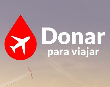 Dos viajes gratis por donar sangre (Canarias)