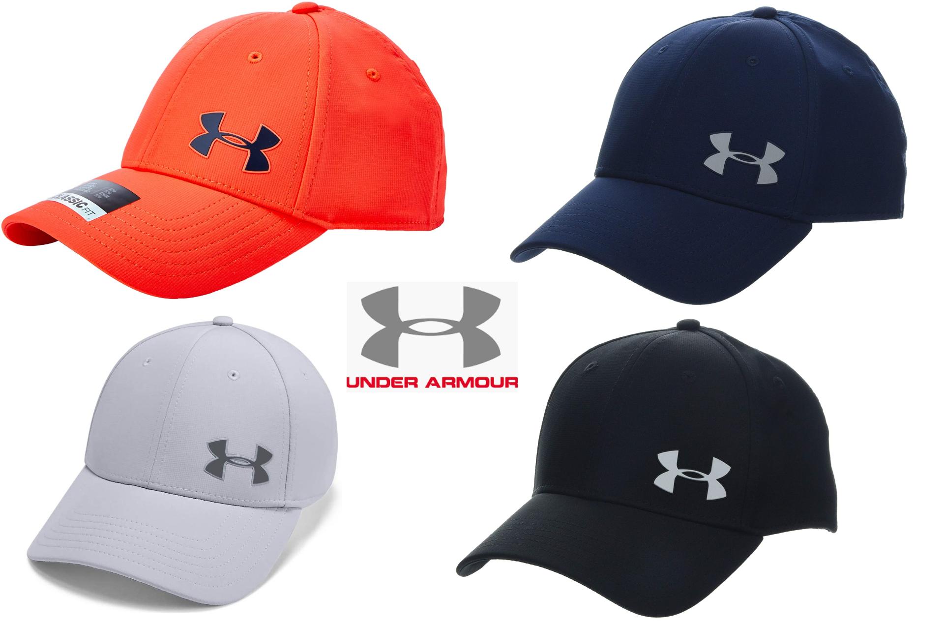 4 COLORES - Under Armour Golf Headline 3.0 C Gorra con Logo Frontal