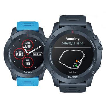 Smartwatch Zeblaze VIBE 3 1.3'' GPS+GLONASS Dual Mode Positioning Blood Pressure O2 Monitor