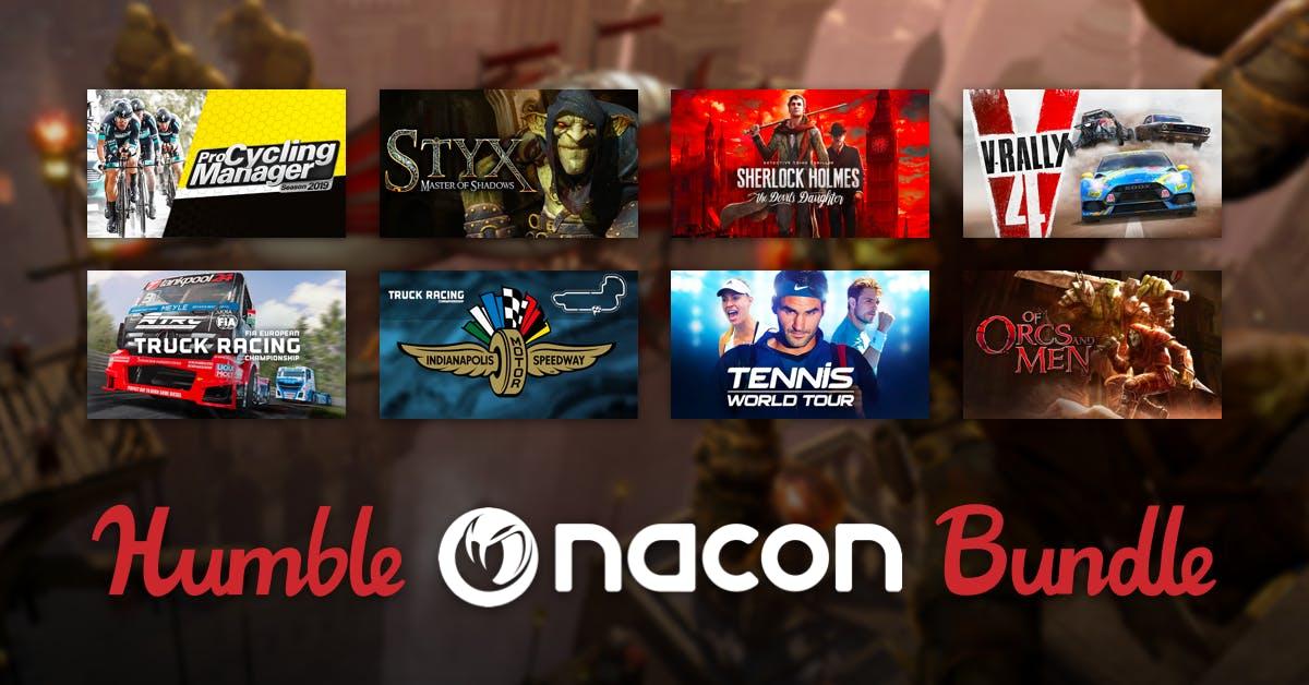 Juegos desde 1€ (Nacon) - Styx: Master of Shadows, Pro Cycling Manager 2019, V-Rally 4, etc (Humble bundle)