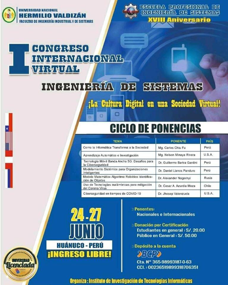3 DIAS DE Congreso virtual Internacional [EN ESPAÑOL]
