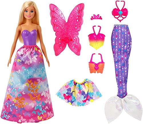 Jueguete Barbie Dreamtopia set de modas y accesorios