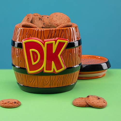 Tarro de galletas Donkey Kong - Producto oficial Nintendo
