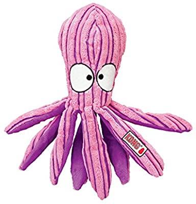 KONG - CuteSeas Octopus - Peluche de Pana para Pequeños