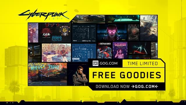 Colección de Arte de Cyberpunk 2077 GRATIS