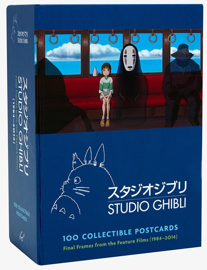 Colección de 100 postales del Studio Ghibli