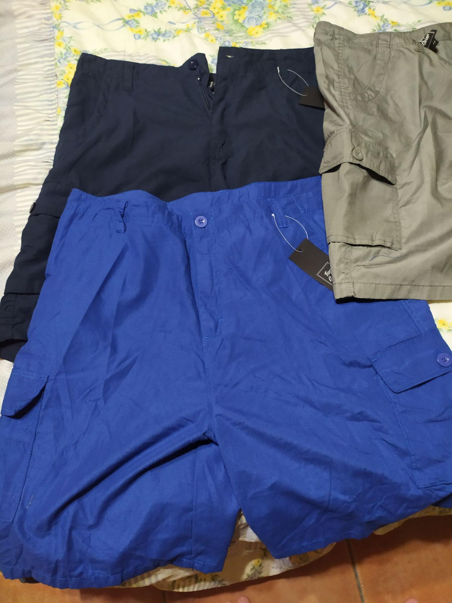 Pantalones multibolsillos (En Carrefour outlet jerez)