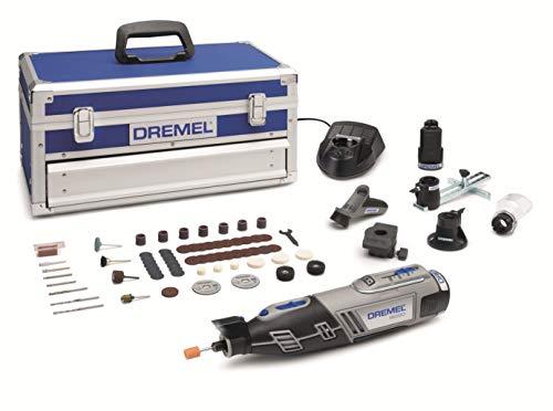 Dremel Platinum Edition 8220 + 5 complementos, 65 accesorios (velocidad 5.000 - 35.000 rpm)