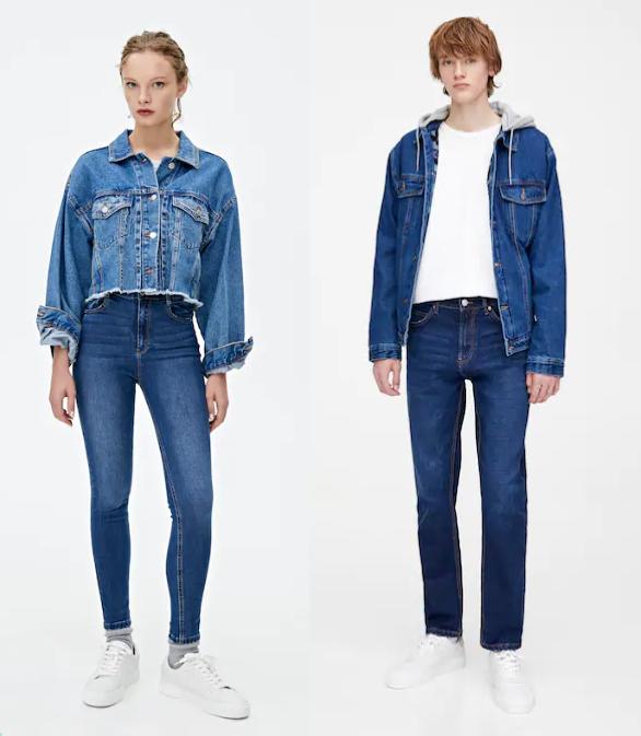 Jeans Pull&Bear desde 7.9 para mujer y 9.9€ para hombre