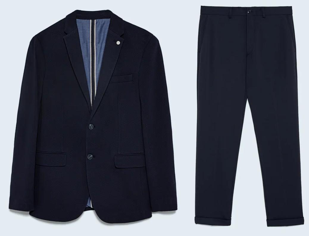 Traje Zara Blazer + pantalón solo 25.9€