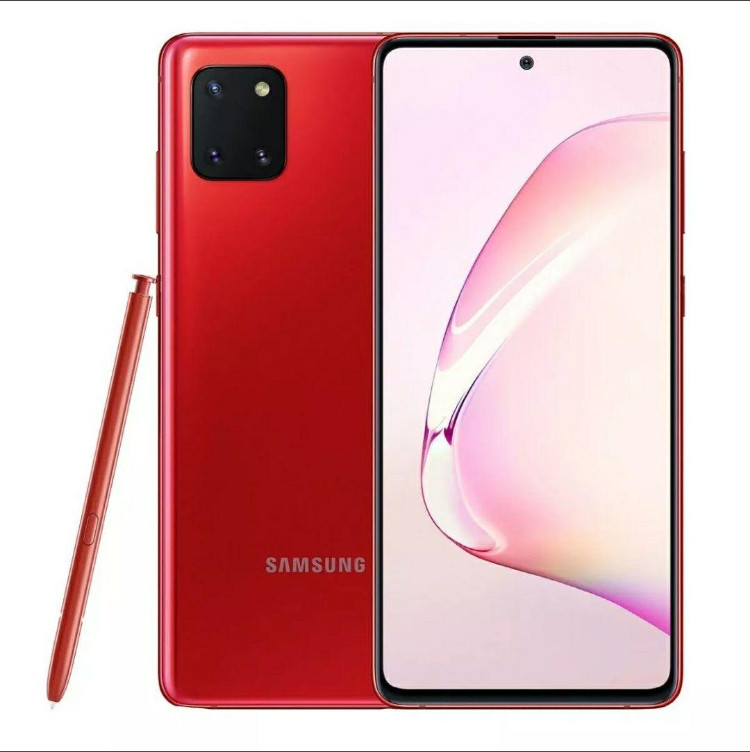 Samsung Galaxy Note 10 Lite 8GB/128GB Dual Sim - Rojo