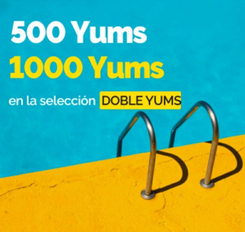 500 o 1000 YUMS ElTenedor