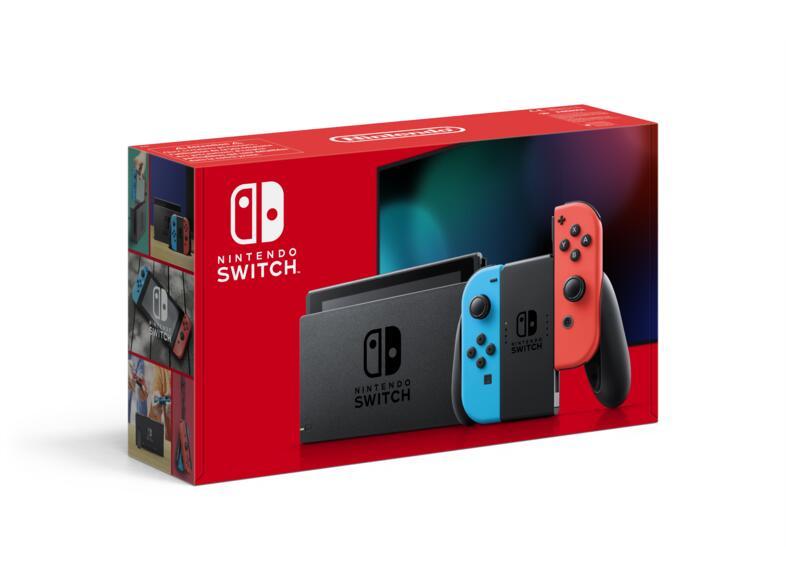 Nintendo Switch V2 (azul neón) o (gris) Mediamarkt (Canarias)