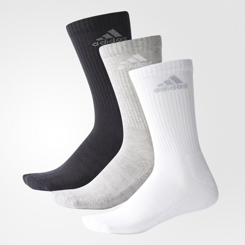 3 pares de calcetines adidas (web oficial adidas)